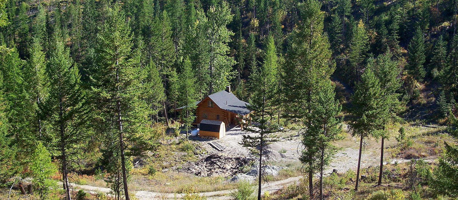Lost Lake Cabin for sale in Montana