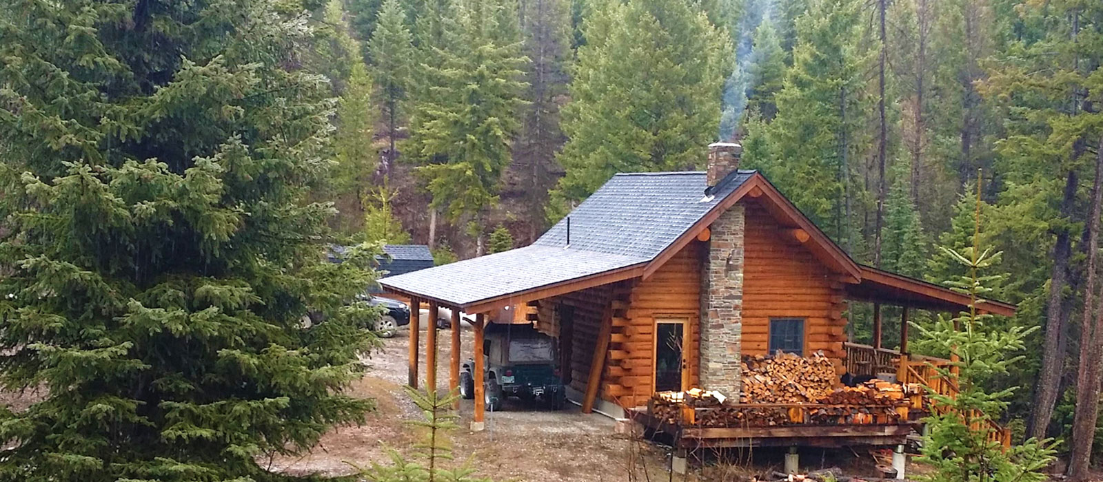 cabins mountain montana on in acres setting rentals stream s rent incredible srz cabin for front d canyon
